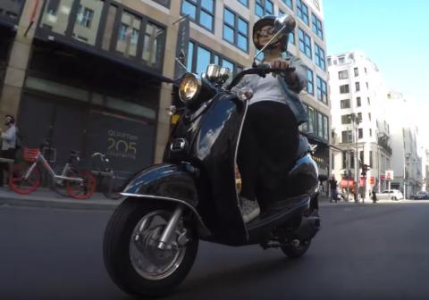 Moto eléctrica Aldi