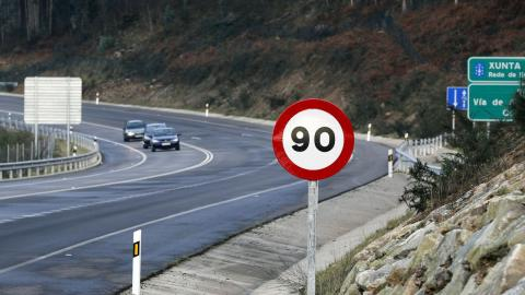 Multas por superar 90 km/h