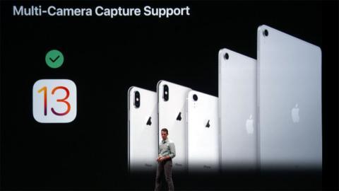 Multi cámara iOS13