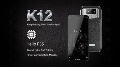 Oukitel K12 a la venta el 10 de junio y muestra su rendimiento con un test de AnTuTu