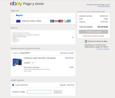 PARATECH Ebay PS4 Pro