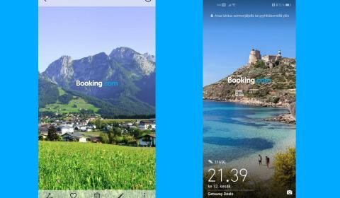 Publicidad pantalla bloqueo Huawei