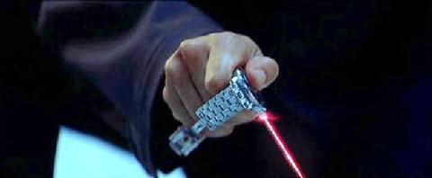Reloj láser 007