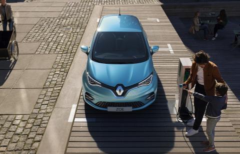 Nuevo Renault Zoe techo
