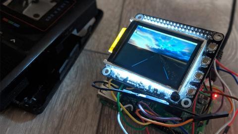 Revivir un viejo televisor Casio con una Raspberry Pi es posible