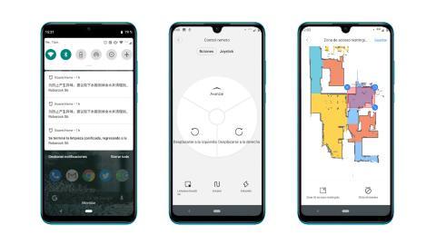 Roborock S6, App Mi Home