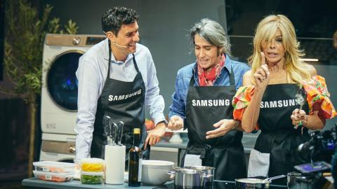 Samsung presenta su nueva gama de electrodomésticos inteligentes