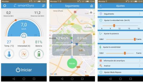 Smartgyro Baggio app