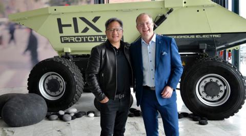 Volvo y Nvidia se asocian para crear una plataforma de camiones autónomos