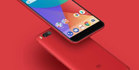 Xiaomi Mi A2 Red Edition en color rojo
