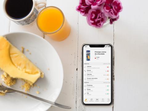 aplicación que te dice si un alimento es saludable o no