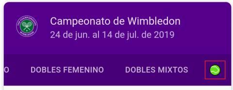 Tenis de Google