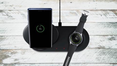cargador inalámbrico de 20W para el Galaxy Note 10 Plus