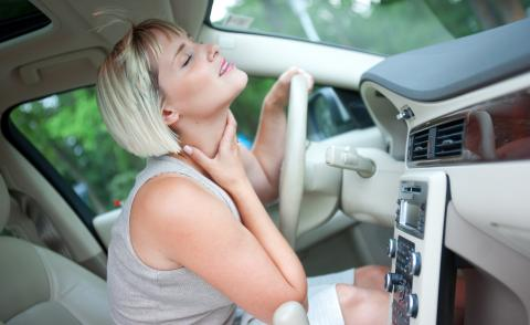 Calor en el coche