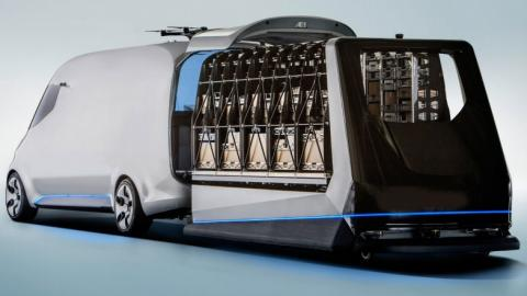 eCapsule, furgonetas de transporte y jaulas