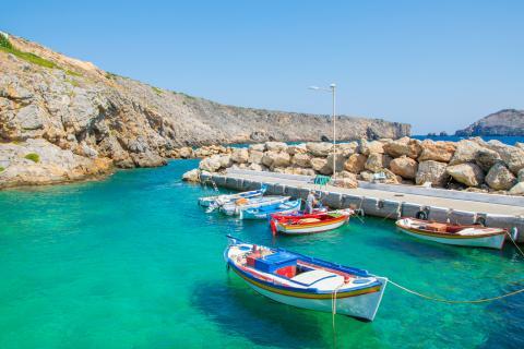 Isla mediterránea