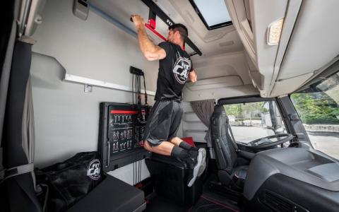 Cabina de camión Iveco