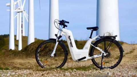 bicicleta eléctrica de hidrógeno