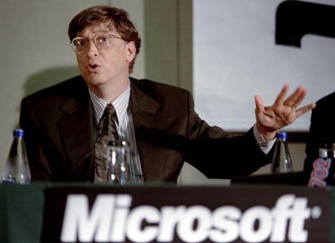 Bill Gates en 1997.