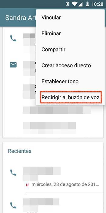 Bloquear contacto en Android