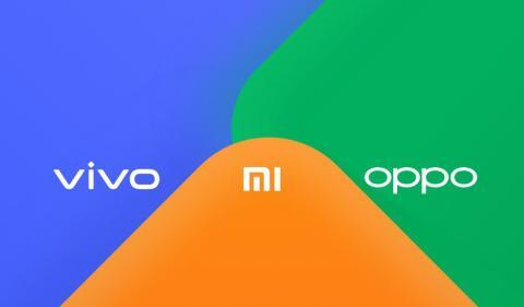 Oppo, Vivo y Xiaomi