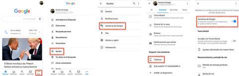 Cómo desactivar el asistente de Google