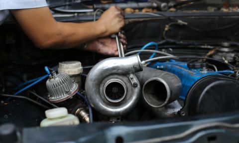 Turbo del coche