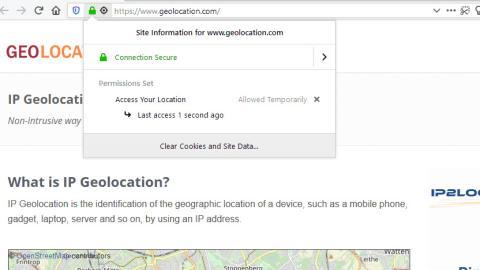 Geolocalización Firefox