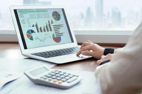 Mercado inversión gráficos