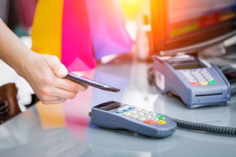 Pago móvil con NFC