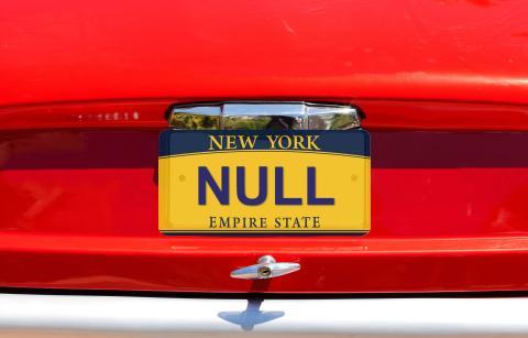 Matricula NULL
