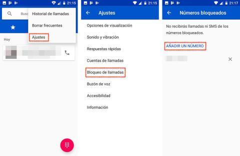 Así puedes bloquear un número de teléfono en Android