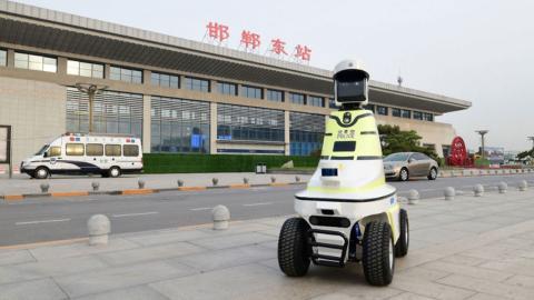 Robot de tráfico