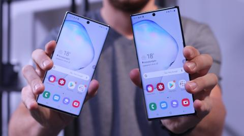 Samsung Galaxy Note 10 vs Note 10 Plus