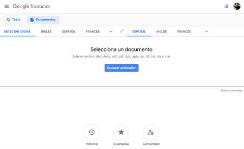 Traducir PDF con Google Translate
