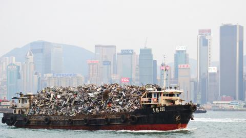 Barco de basura