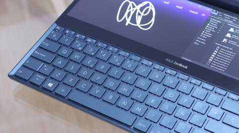 Detalles del diseño del Asus ZenBook Pro Duo