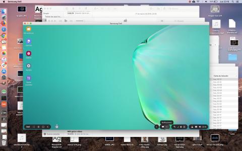 DeX en Mac