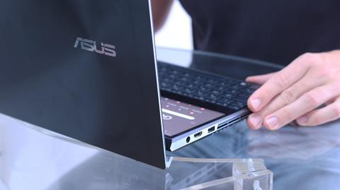 Diseño del ZenBook Pro Duo