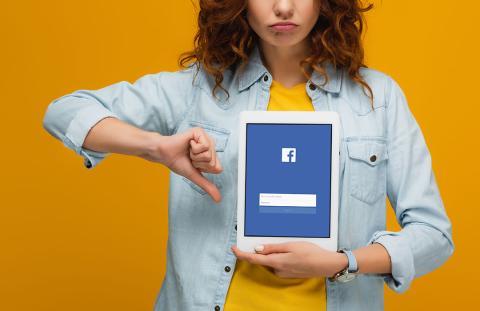 """""""No me gusta"""" en Facebook"""