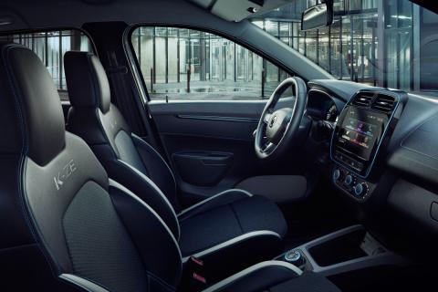 Interior del Renault K-ZE