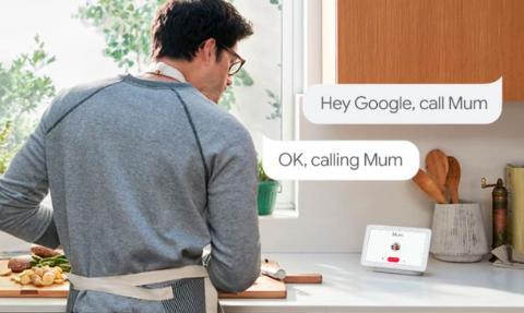 Llamadas con Google Home