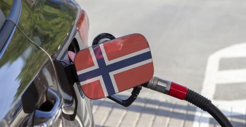 Noruega gasolinera