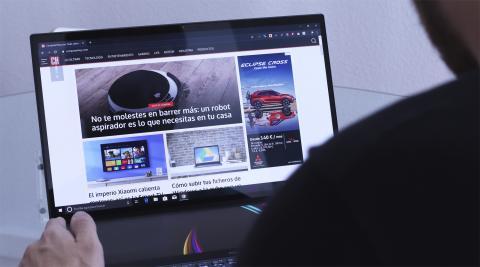 Pantalla del ZenBook Pro Duo