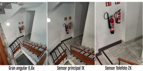 Puntos de vista Cámara OnePlus 7T