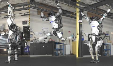 Robot gimnasta