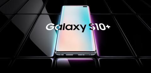 Diseño del Samsung Galaxy S10+
