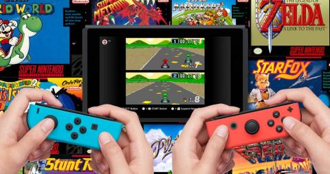 Super Nintendo en Nintendo Switch Online