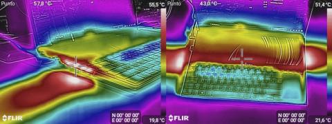Temperaturas del ZenBook Pro Duo