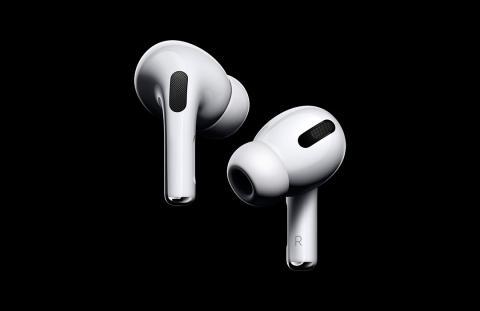 Apple presenta AirPods Pro con cancelación de ruido, precio más alto